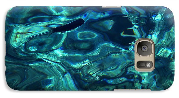 Galaxy Case featuring the photograph Ocean Water Santorini Greece  by Colette V Hera  Guggenheim