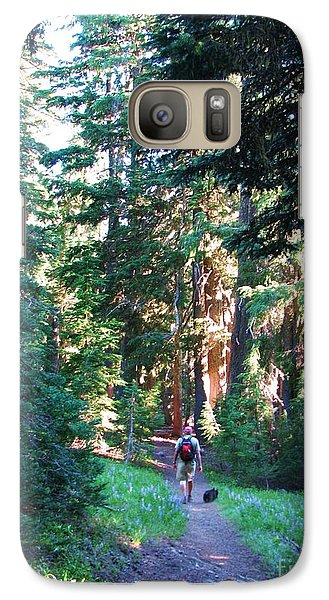 Galaxy Case featuring the photograph On A Hike by Michele Penner