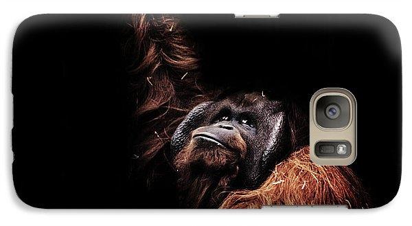 Orangutan Galaxy S7 Case by Martin Newman
