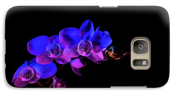 Galaxy Case featuring the photograph Orchid by Brian Jones