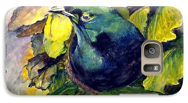Galaxy Case featuring the painting Paradise Bird by Jason Sentuf