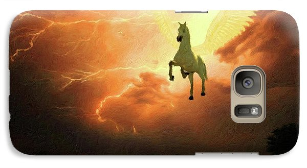 Pegasus By Mary Bassett Galaxy S7 Case