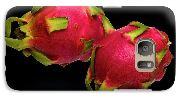 Galaxy Case featuring the photograph Pink Dragon Fruit  by David French