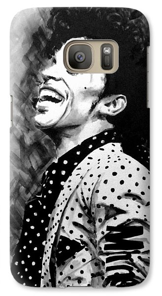 Galaxy Case featuring the painting Prince by Darryl Matthews