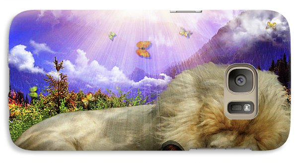 Galaxy Case featuring the digital art Rest  by Dolores Develde