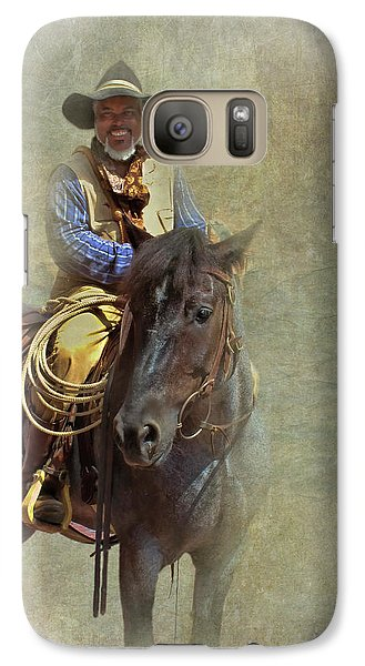 Galaxy Case featuring the photograph Ride Em Cowboy by David and Carol Kelly