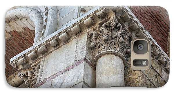 Galaxy Case featuring the photograph Saint Sernin Basilica Architectural Detail by Elena Elisseeva