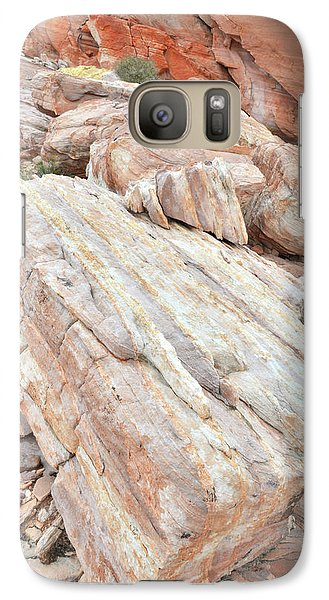 Galaxy Case featuring the photograph Sandstone Slope In Valley Of Fire by Ray Mathis