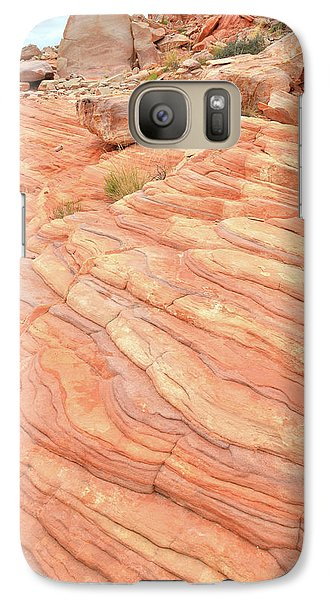Galaxy Case featuring the photograph Sandstone Swirls In Valley Of Fire by Ray Mathis