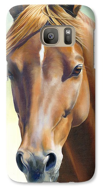 Galaxy Case featuring the painting Serenity by Alecia Underhill