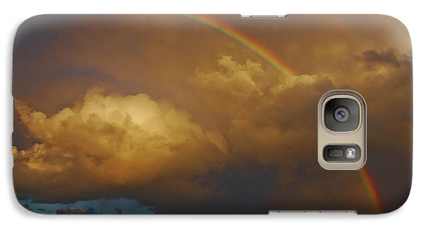 Galaxy Case featuring the photograph 2- Singer Island Stormbow by Rainbows