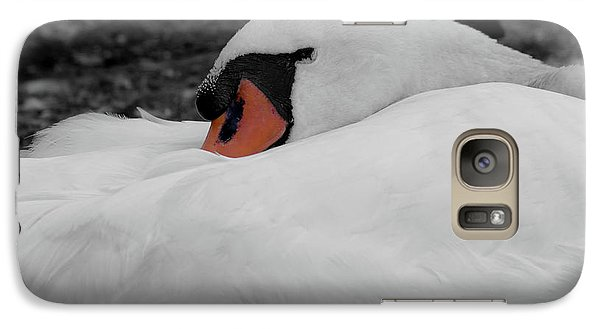 Galaxy Case featuring the photograph Sleeping Beauty by Scott Carruthers