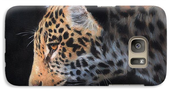 Galaxy Case featuring the painting South American Jaguar by David Stribbling