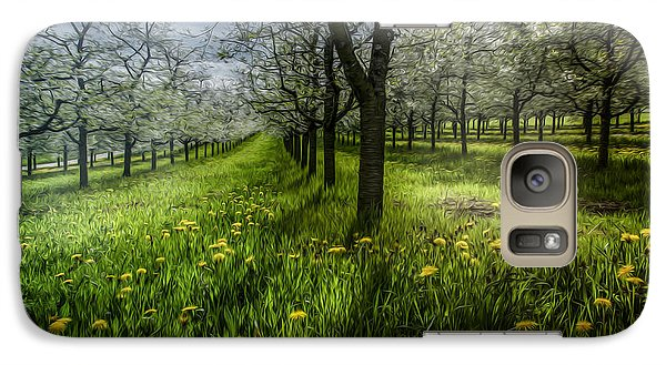 Galaxy Case featuring the photograph Spring Colors by Bruno Santoro