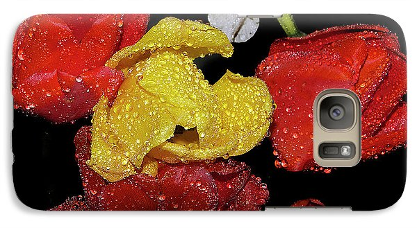 Galaxy Case featuring the photograph Spring Flower by Elvira Ladocki