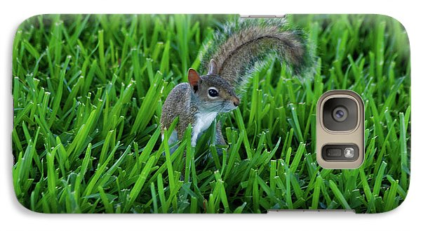 Galaxy Case featuring the photograph 2- Squirrel by Joseph Keane