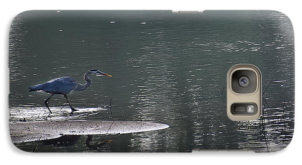 Galaxy Case featuring the photograph Stalker  by Skip Willits