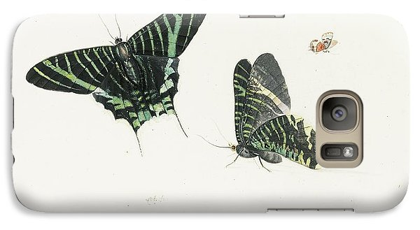Studies Of Two Butterflies Galaxy Case by Anton Henstenburgh