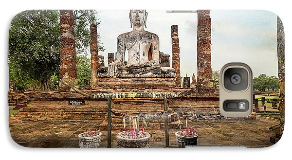 Galaxy Case featuring the photograph Sukhothai Buddha by Adrian Evans