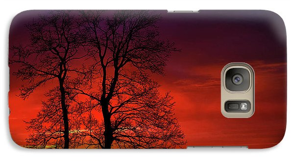 Galaxy Case featuring the photograph Sunset by Bess Hamiti