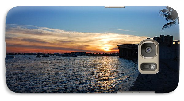 Galaxy Case featuring the photograph 2- Sunset In Paradise by Joseph Keane