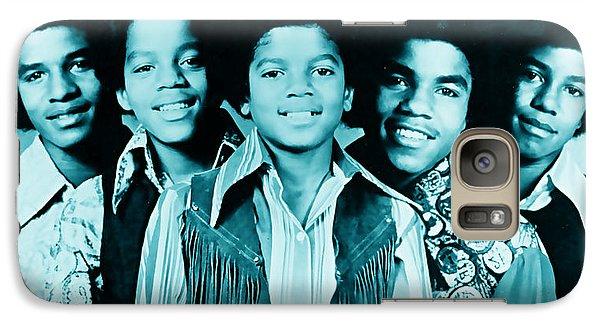 The Jackson 5 Collection Galaxy Case by Marvin Blaine