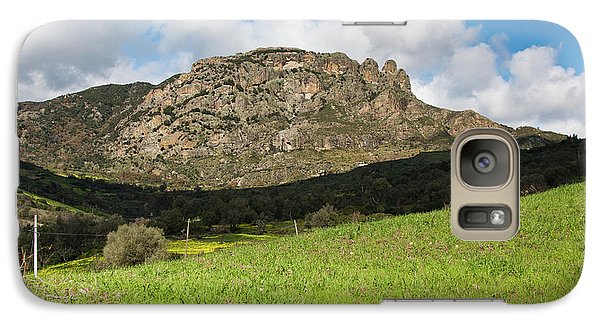 Galaxy Case featuring the photograph The Three Finger Mountain by Bruno Spagnolo
