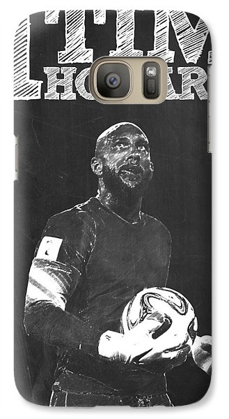 Tim Howard Galaxy S7 Case by Semih Yurdabak