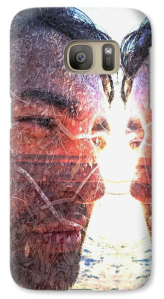 Galaxy Case featuring the photograph Totem by Beto Machado