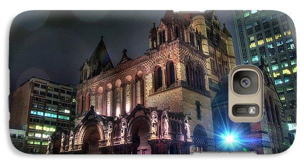 Galaxy Case featuring the photograph Trinity Church - Copley Square Boston by Joann Vitali