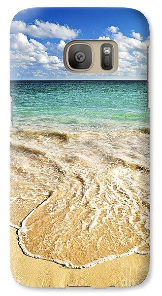 Tropical Beach  Galaxy S7 Case