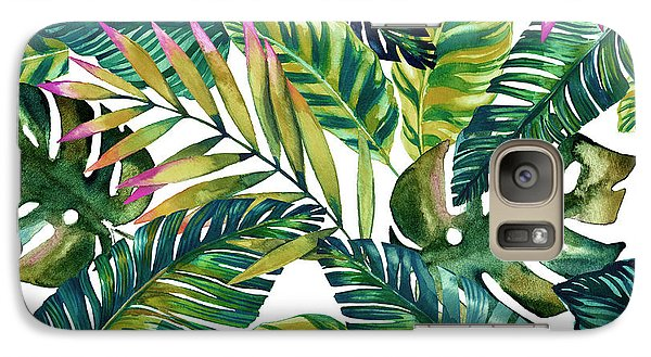 Flowers Galaxy S7 Case - Tropical  by Mark Ashkenazi