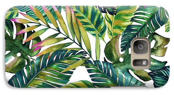 Tropical  Galaxy S7 Case by Mark Ashkenazi
