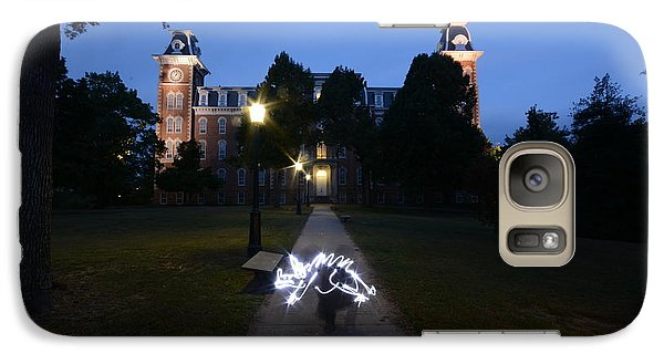 University Of Arkansas Galaxy Case by Chris  Look