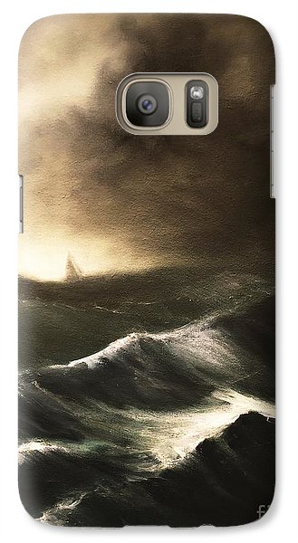 Galaxy Case featuring the painting Untitled by Stephen Roberson