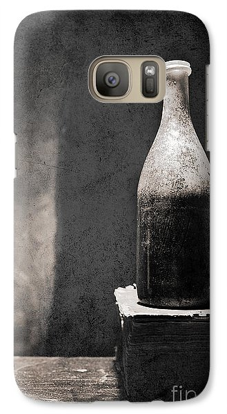 Galaxy Case featuring the photograph Vintage Beer Bottle by Andrey  Godyaykin