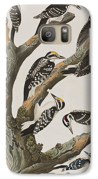 Woodpeckers Galaxy S7 Case by John James Audubon