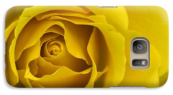 Galaxy Case featuring the photograph Yellow Rose by Adrian LaRoque