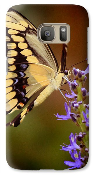 Galaxy Case featuring the photograph Yellow Swallowtail by Joseph G Holland