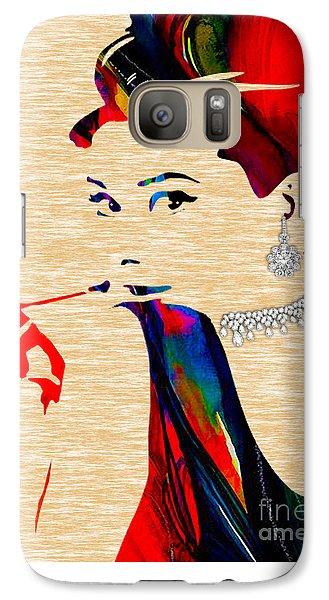Audrey Hepburn Collection Galaxy S7 Case