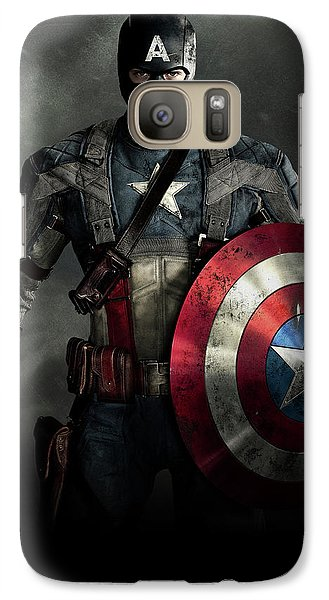 Ant Galaxy S7 Case - Captain America Civil War 2016 by Fine Artist