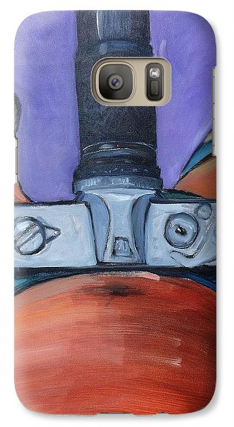 Galaxy Case featuring the painting 200 Zoom by Gary Coleman