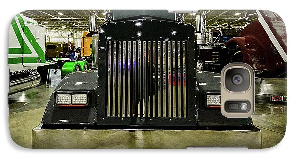 Galaxy S7 Case featuring the photograph 2000 Kenworth W900 by Randy Scherkenbach
