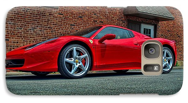 Galaxy Case featuring the photograph 2012 Ferrari 458 Spider by Tim McCullough