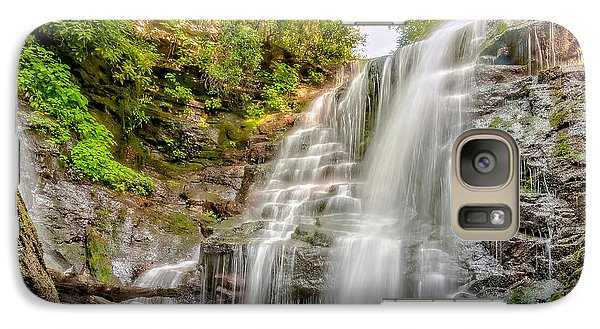 Galaxy Case featuring the photograph Rocky Falls by Christopher Holmes