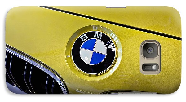 Galaxy Case featuring the photograph 2015 Bmw M4 Hood by Aaron Berg