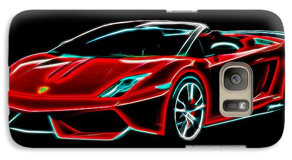 Galaxy Case featuring the digital art 2014 Lamborghini Gallardo by Aaron Berg