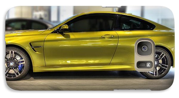 Vehicle Galaxy Case featuring the photograph 2015 Bmw M4 by Aaron Berg
