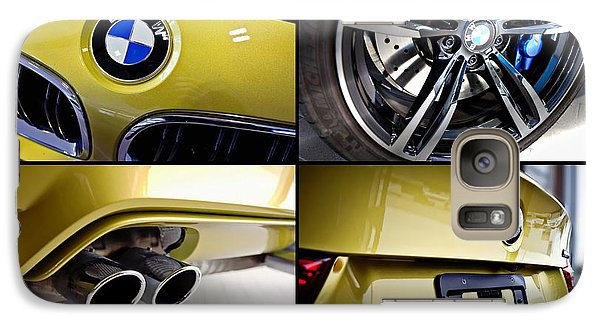 Galaxy Case featuring the photograph 2015 Bmw M4 Collage  by Aaron Berg
