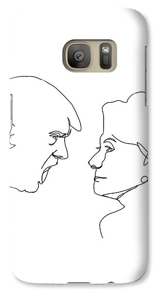 2016 Election Galaxy S7 Case by Harold Belarmino